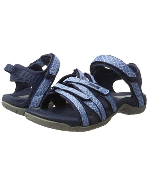 30eb5949dc2d ... Teva - Blue Tirra Sports And Outdoor Lifestyle Sandal - Lyst ...