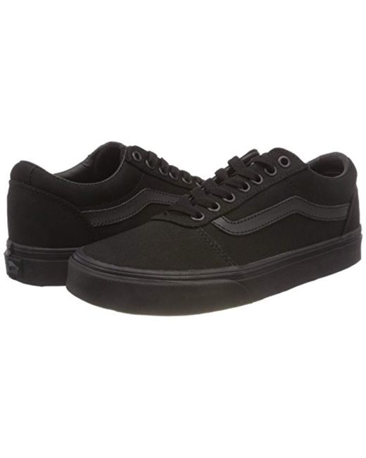 e1ef5817c3 ... Vans - Black Ward Canvas Low-top Sneakers for Men - Lyst ...