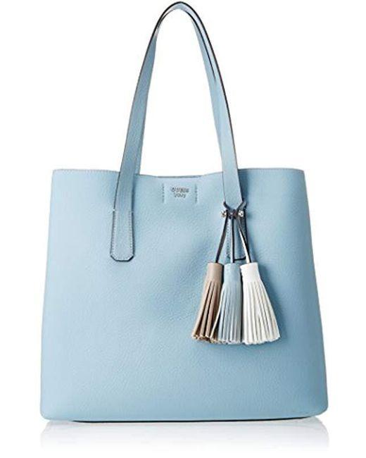 10aa142b928a Guess - Blue Hobo Shoulder Bag - Lyst ...