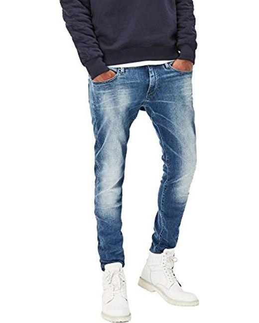 cb0504d0777838 G-Star RAW - Blue Revend Super Slim for Men - Lyst ...