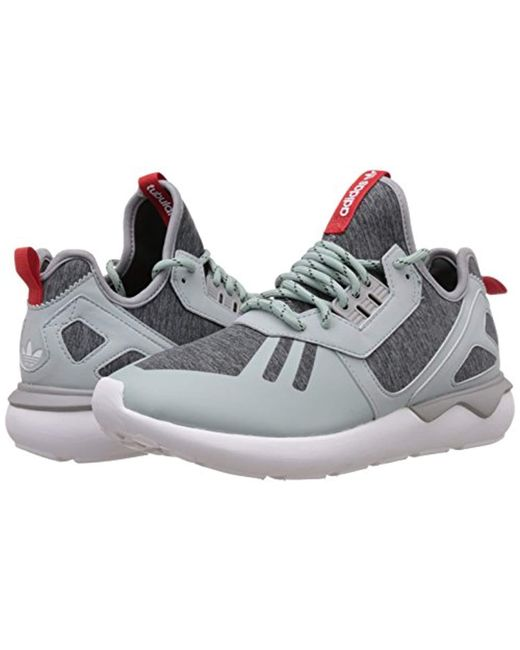 save off 4e782 bd8cc adidas Tubular Runner Weave, Hi-top Sneakers in Gray for Men ...