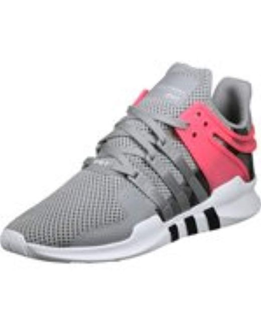 6c6995267e4e56 ... Adidas - Gray Eqt Support Adv Low-top Sneakers for Men - Lyst ...