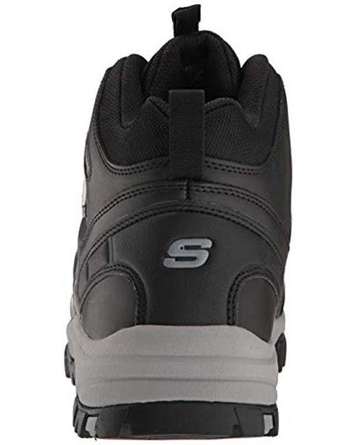 571dbc66c87b0 ... Skechers - Black Relment-traven Hiking Boot for Men - Lyst ...
