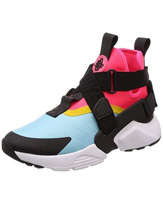 Nike , Black \u0027s Air Huarache City Low,top Sneakers