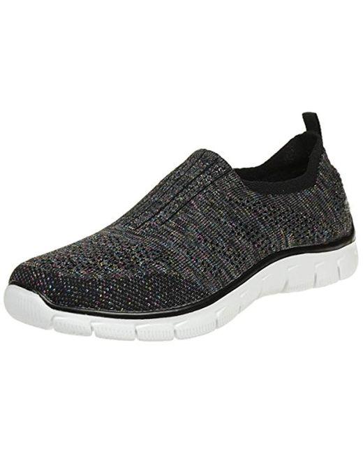 Skechers - Black Sport Empire Inside Look Fashion Sneaker - Lyst
