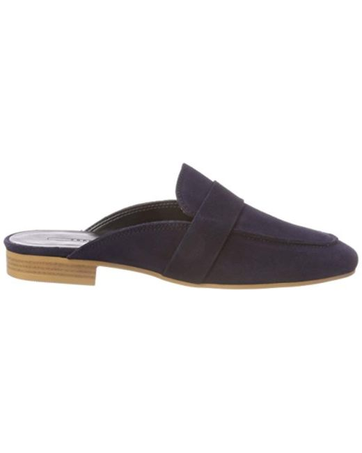 's Slide Lyst Esprit Back Sling Blue Sandals Manu In pfn4q1wdx