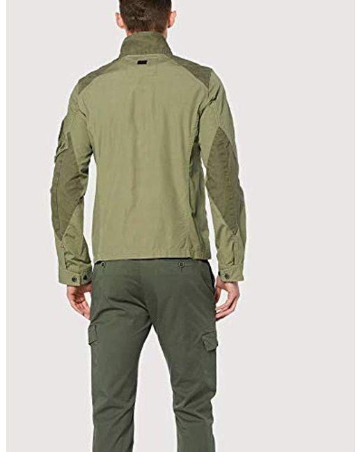 precio limitado online venta de bajo precio Truss Field Overshirt Chaqueta para Hombre de color verde