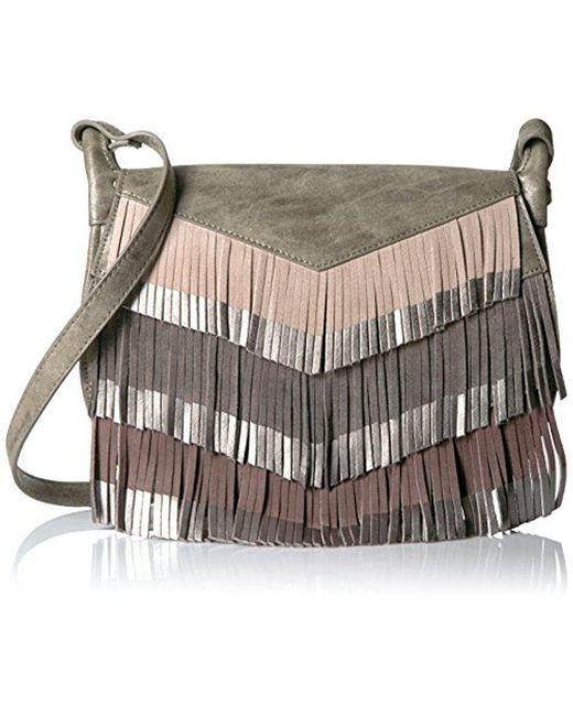 Steven By Steve Madden Multicolor Everly Cross Body Handbag Lyst