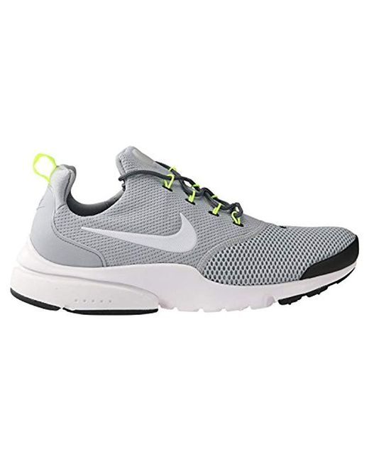 Nike 's Presto Fly Gris Gymnastics scarpe in Gris Fly for Uomo Lyst 81a7d4