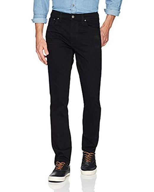 d48c62b1 Nudie Jeans - Black Lean Dean for Men - Lyst ...