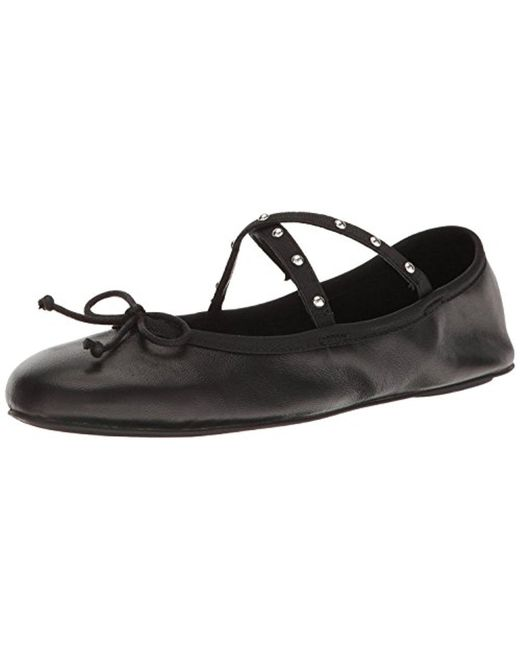 Steve Madden - Black Twirls Ballet Flat - Lyst