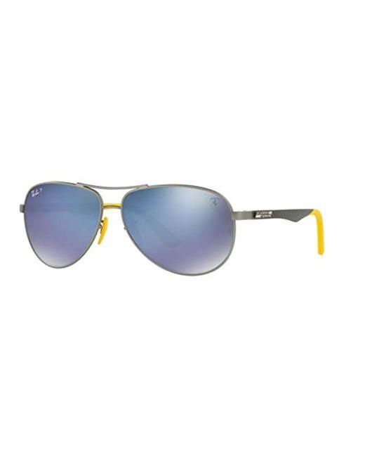 51feb36bc3 Ray-Ban - Multicolor Rb8313m Scuderia Ferrari Collection Polarized  Sunglasses for Men - Lyst
