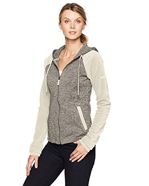 Columbia - Gray Darling Days Full Zip Jacket - Lyst