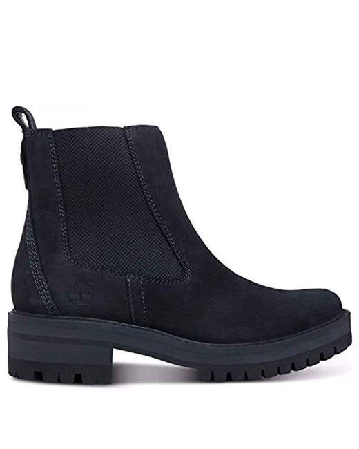 Timberland - Black Unisex Adults' Courmayeur Valley Chelsea A1j66 Classic Boots - Lyst