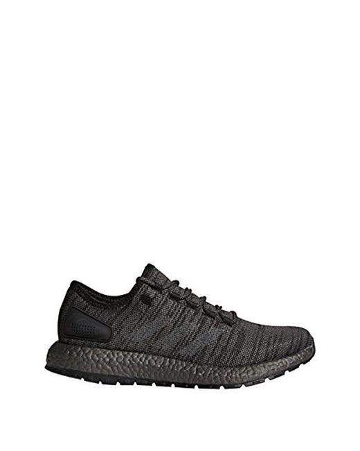 lyst adidas pureboost atr scarpa da corsa in grigio per gli uomini.