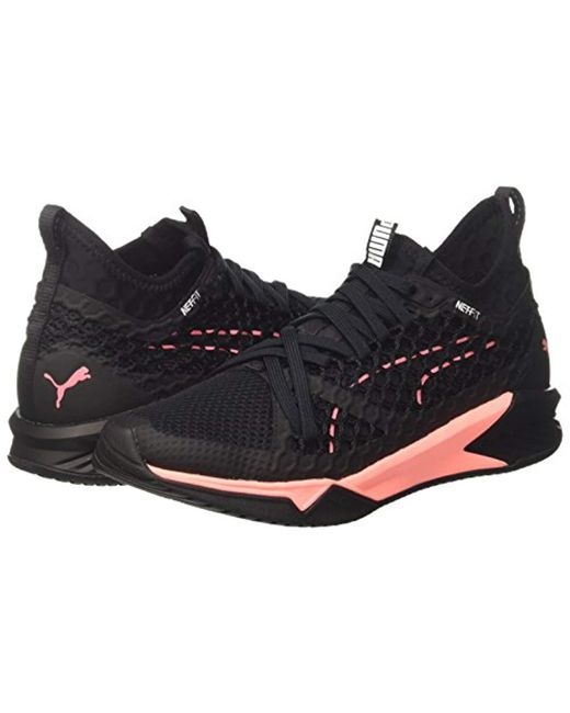 Puma  s Ignite Xt Netfit Wn s Cross Trainers in Black - Lyst cbbf592b7