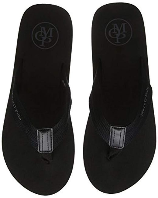 0a46455bd9ec Marc O polo - Black  s Beach Sandale 80323691003602 Flip Flops for Men ...
