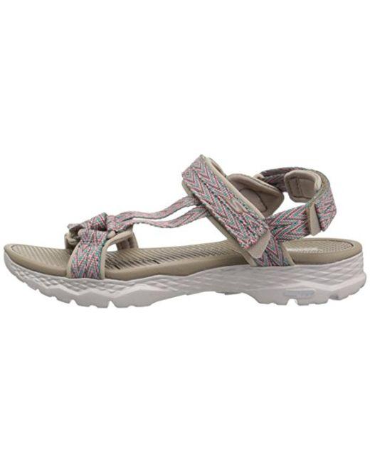 41e4a30a781f ... Skechers - Multicolor Go Walk Outdoors-runyon Sport Sandal - Lyst ...