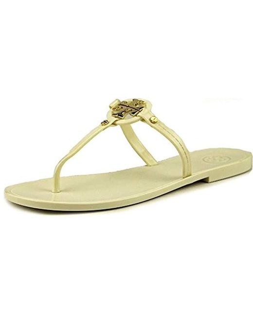 d571b603d Tory Burch - White Mini Miller Flat Thong - Lyst ...