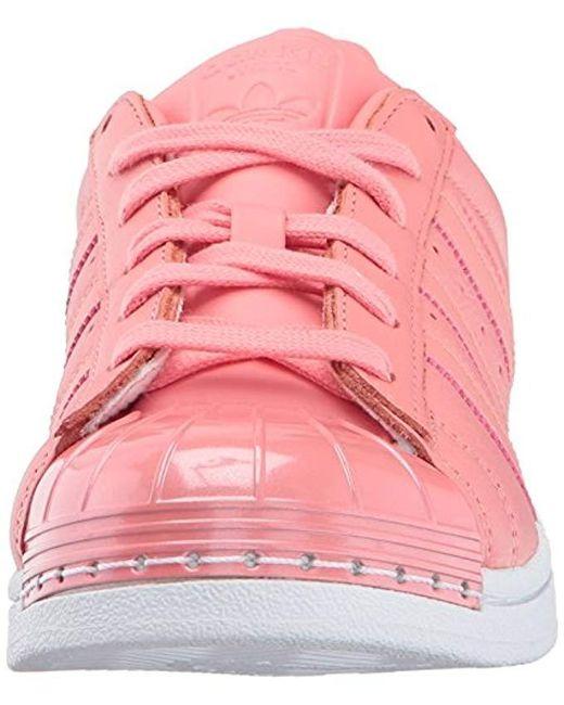 on sale c5106 62402 ... Adidas Originals - Pink Superstar Metal Toe W Skate Shoe Running - Lyst  ...