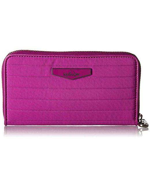 Kipling - Pink Nimmi Wallet - Lyst
