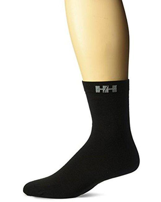 Helly Hansen - Black Light-weight Boot Sock for Men - Lyst