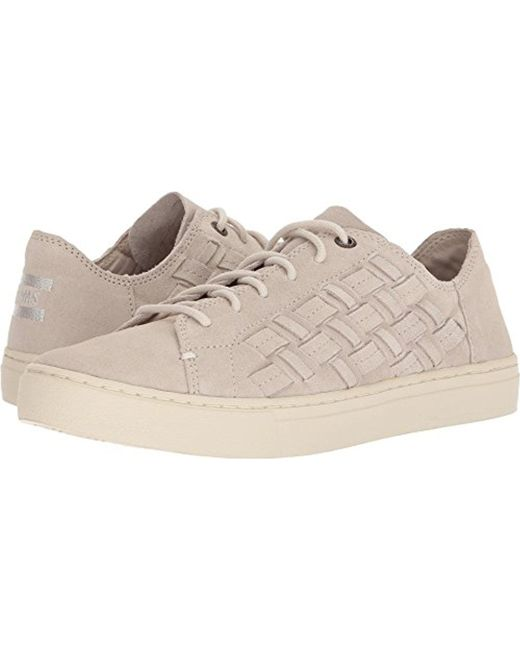 TOMS - Natural Lenox Suede Ankle-high Fashion Sneaker - Lyst