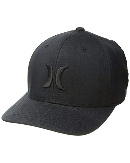 3c4d5a5b08eaca Lyst - Hurley Black Textures Baseball Cap in Black for Men
