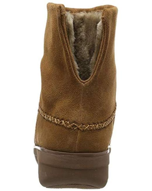 d0c1f16c5a1e85 Fitflop Mukluk Shorty 2 Boots Ankle in Brown - Save 23% - Lyst