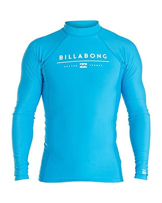 Billabong - Blue All Day Unity Performance Fit Long Sleeve for Men - Lyst
