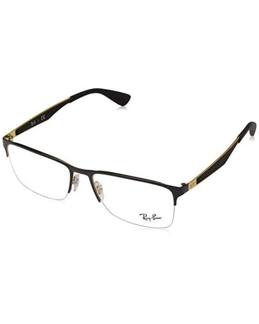 aadbb46a7a5 Ray-Ban - 0rx 6346 2972 50 Optical Frames