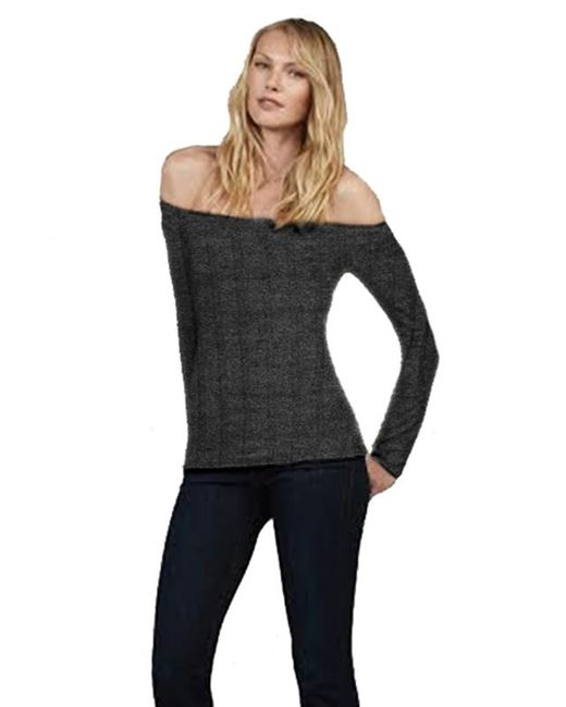 Bailey 44 | Gray Reality Top In Anthracite | Lyst