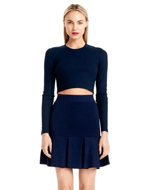 Torn By Ronny Kobo | Blue Oli Crop Top | Lyst