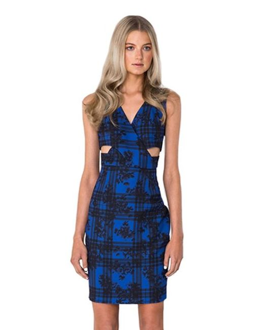 Finders Keepers   Blue Moonlight Dress   Lyst