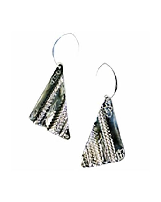 Sibilla G Jewelry | Metallic Sibilla G Oxidized German Silver Earrings | Lyst