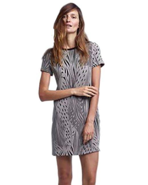 Twenty | Multicolor Tees Knit Short Sleeve Shift Dress In Shadow | Lyst