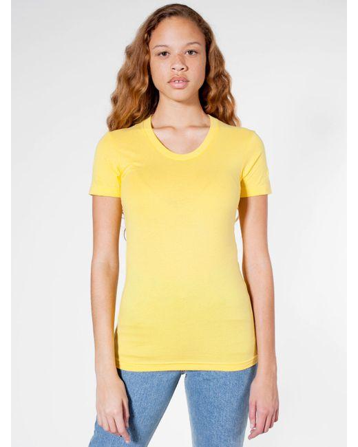 American Apparel Sheer Jersey Short Sleeve Women 39 S Summer