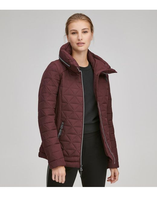 Andrew Marc - Purple Sapphire Quilted Jacket - Lyst