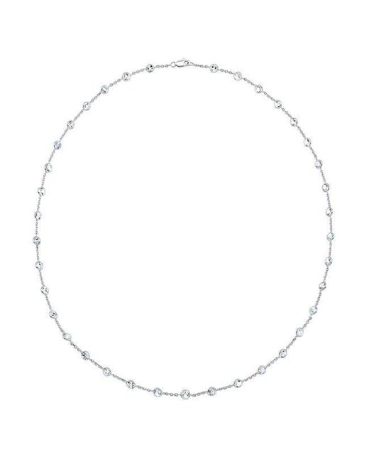 "Anne Sisteron - Multicolor 14kt White Gold Precious Topaz 36"" Necklace - Lyst"