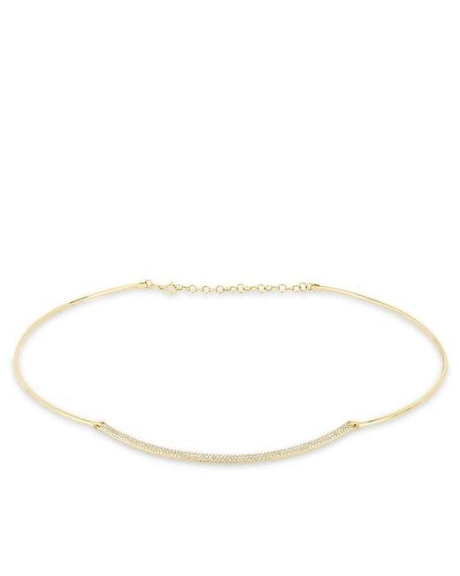 Anne Sisteron | Metallic 14kt Yellow Gold Diamond Cleopatra Choker Necklace | Lyst