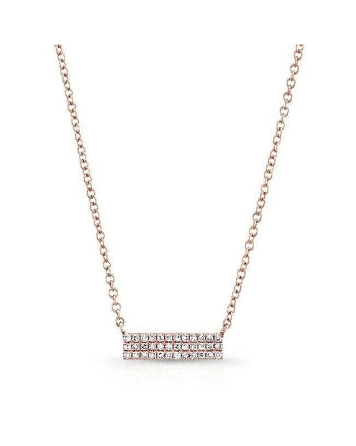 Anne Sisteron | Multicolor 14kt Rose Gold Diamond Starburst Necklace | Lyst