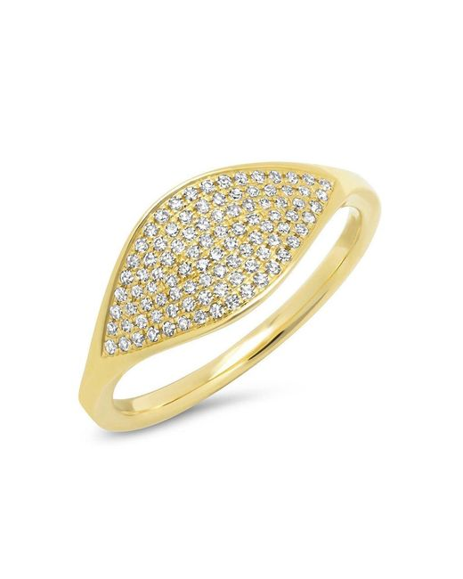 Anne Sisteron - Metallic 14kt Yellow Gold Diamond Alissa Ring - Lyst