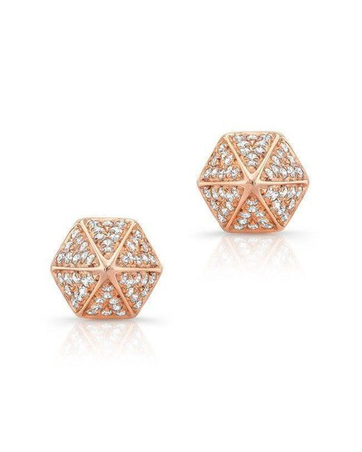 Anne Sisteron - Multicolor 14kt Rose Gold Diamond Olympia Studs - Lyst
