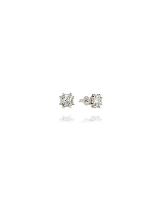 Annoushka   Metallic Pavilion Diamond Stud Earrings   Lyst