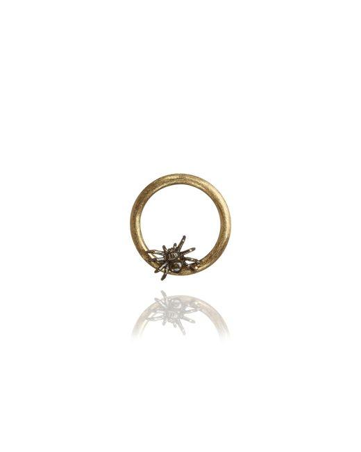 Annoushka - Metallic 18ct Gold Spider Hoopla - Lyst