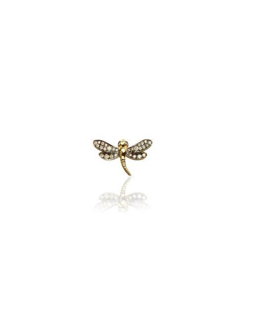 Annoushka - Metallic Love Diamonds Dragonfly Right Earring - Lyst