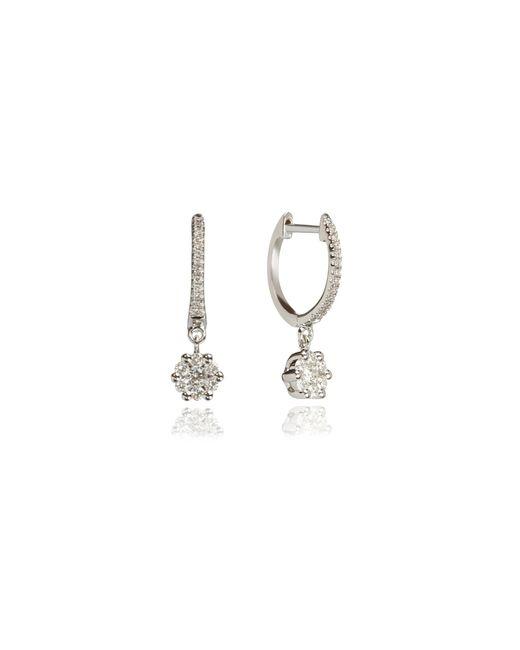 Annoushka - Metallic Daisy Hoop Earrings - Lyst