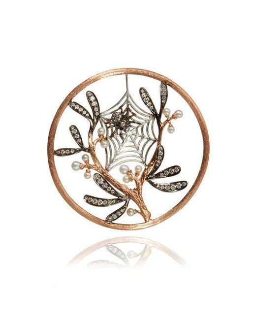 Annoushka - Metallic Hoopla Spider Web Pendant - Lyst