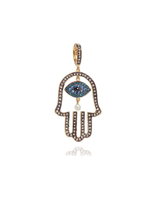 Annoushka - Metallic Mythology Hand Of Fatima Pendant - Lyst