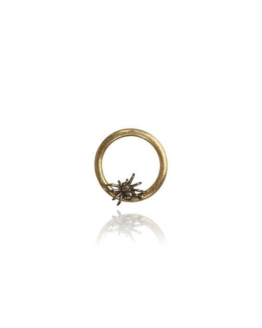 Annoushka - Metallic 18ct Gold Spider Hoopla - Lyst